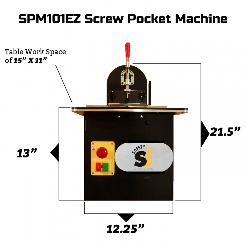 portable screw pocket jig